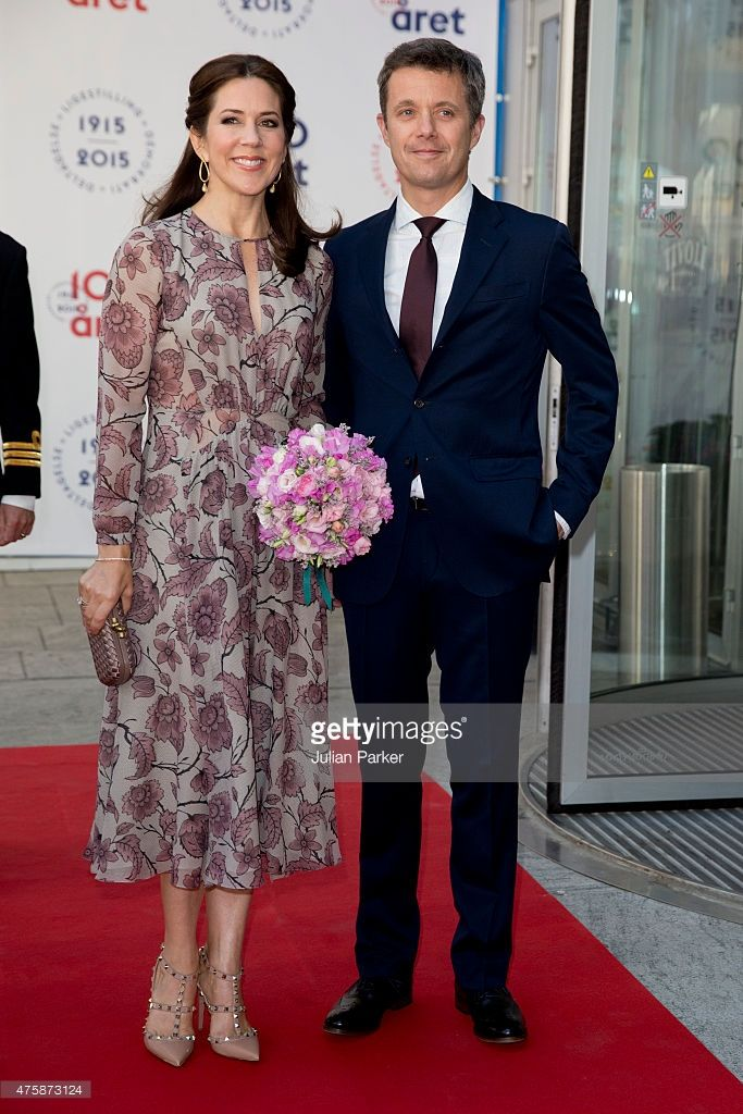 --June 4, 2015--Crown Prince Frederik,and Crown Princess Mary of Denmark attends The Parliament and Government's Celebration of The 100th Anniversary of The 1915 Danish Constitution, at The Tivoli Hotel and Convention Center, on June 4th, 2015 in Copenhagen, Denmark