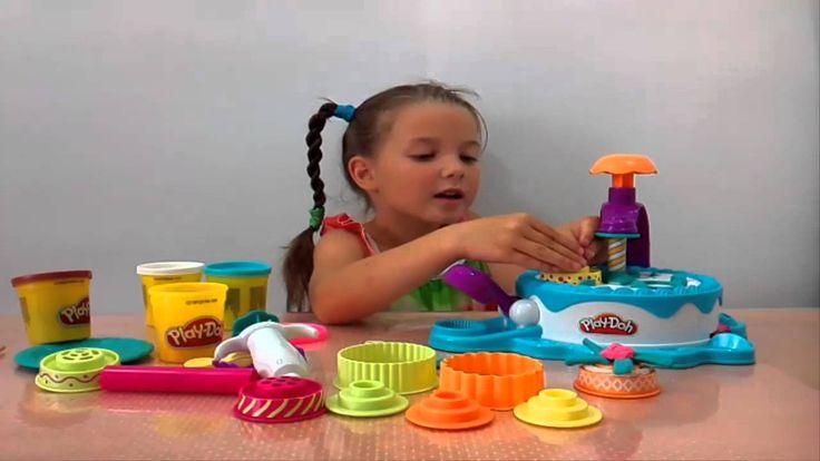 Пластилин ПЛЕЙ ДО ЛЕПИМ ПИРОЖНЫЕ/Clay Play doh Lepim CAKES
