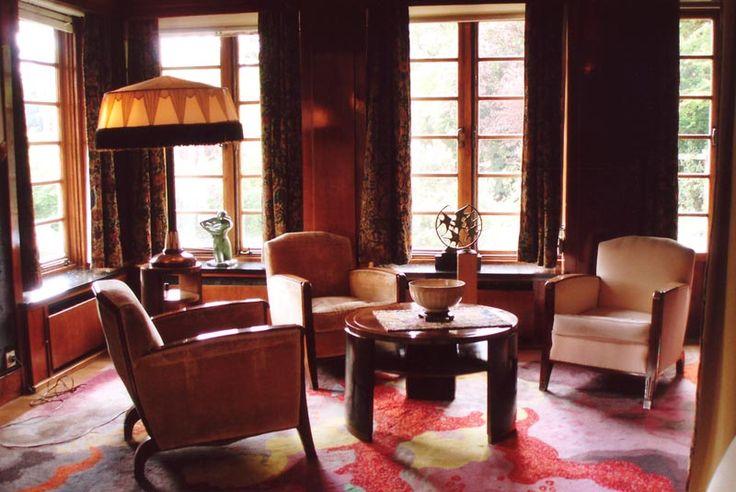238 best images about art deco interiors on pinterest for Maison deco belgique