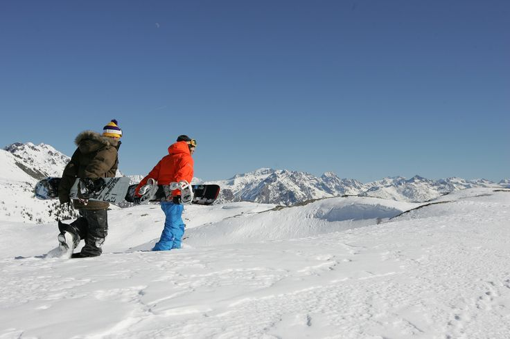 Snowboard, cross-country or alpine ski, in #Valdidentro you can practice different winter sports.  #winter #sports #Valdidentro