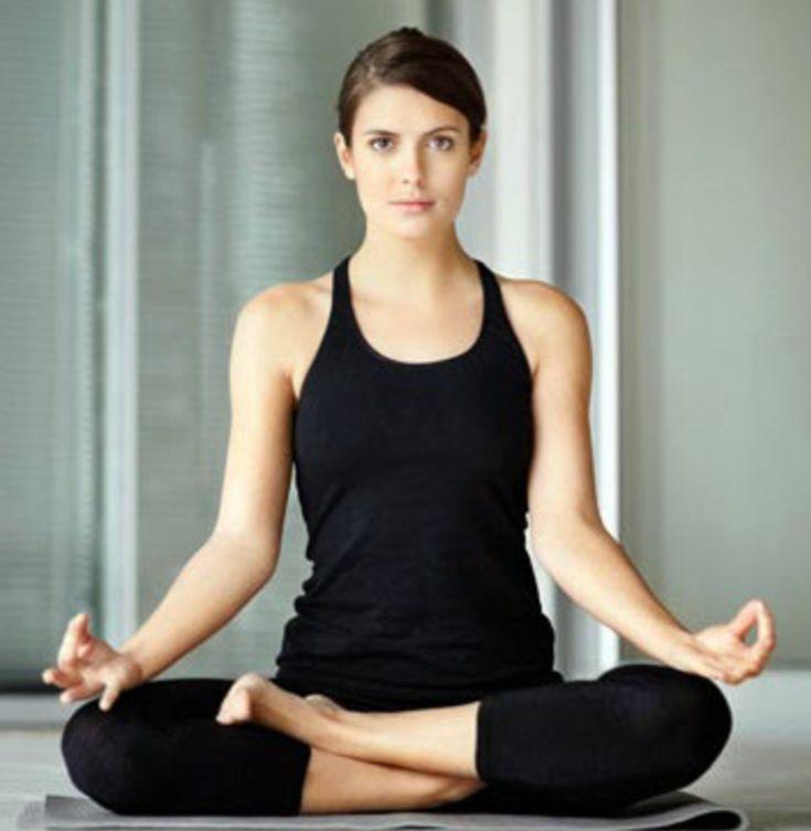 Padmasana or Lotus Pose, Yoga asana for meditation - YouTube