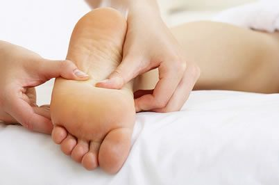 Women Foot Massage and Exercises