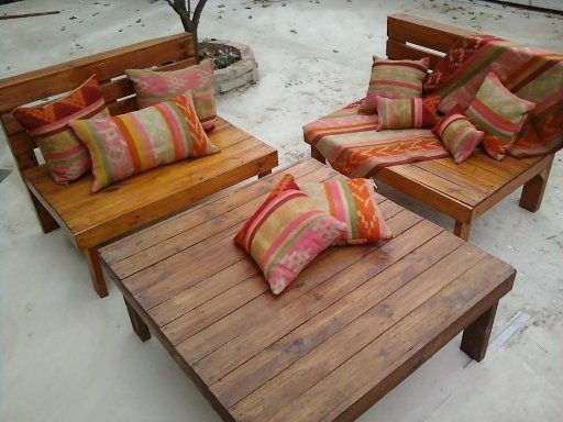 PALLETS: Outdoor furniture - http://dunway.com