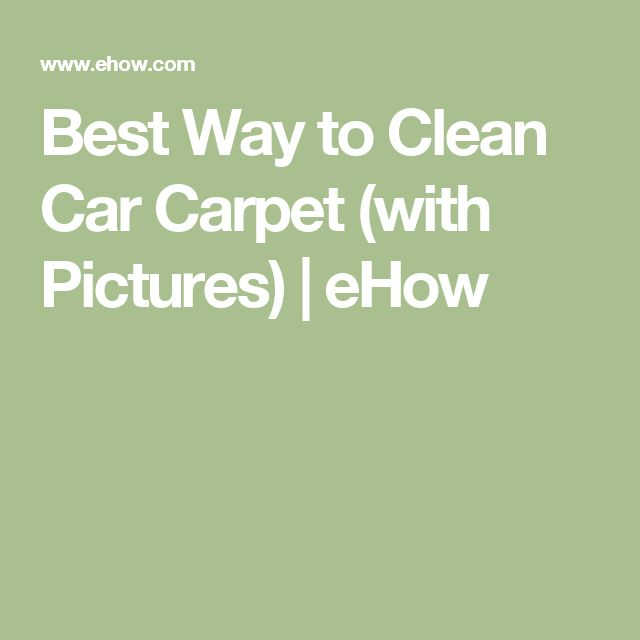 Best 25+ Clean car carpet ideas on Pinterest | DIY ...