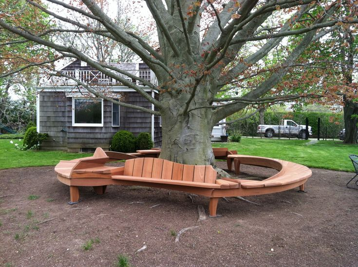 Circle Tree Bench ~ Images about tree bench on pinterest gardens
