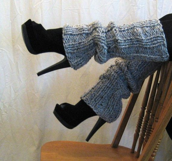 Leg Warmers Charcoal Ultra High or Pick Your von LeshasWorkshop, $43,00