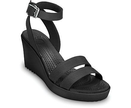 cheap price outlet outlet Manchester Croc International Black Wedges Heels outlet footlocker finishline S9yyJ