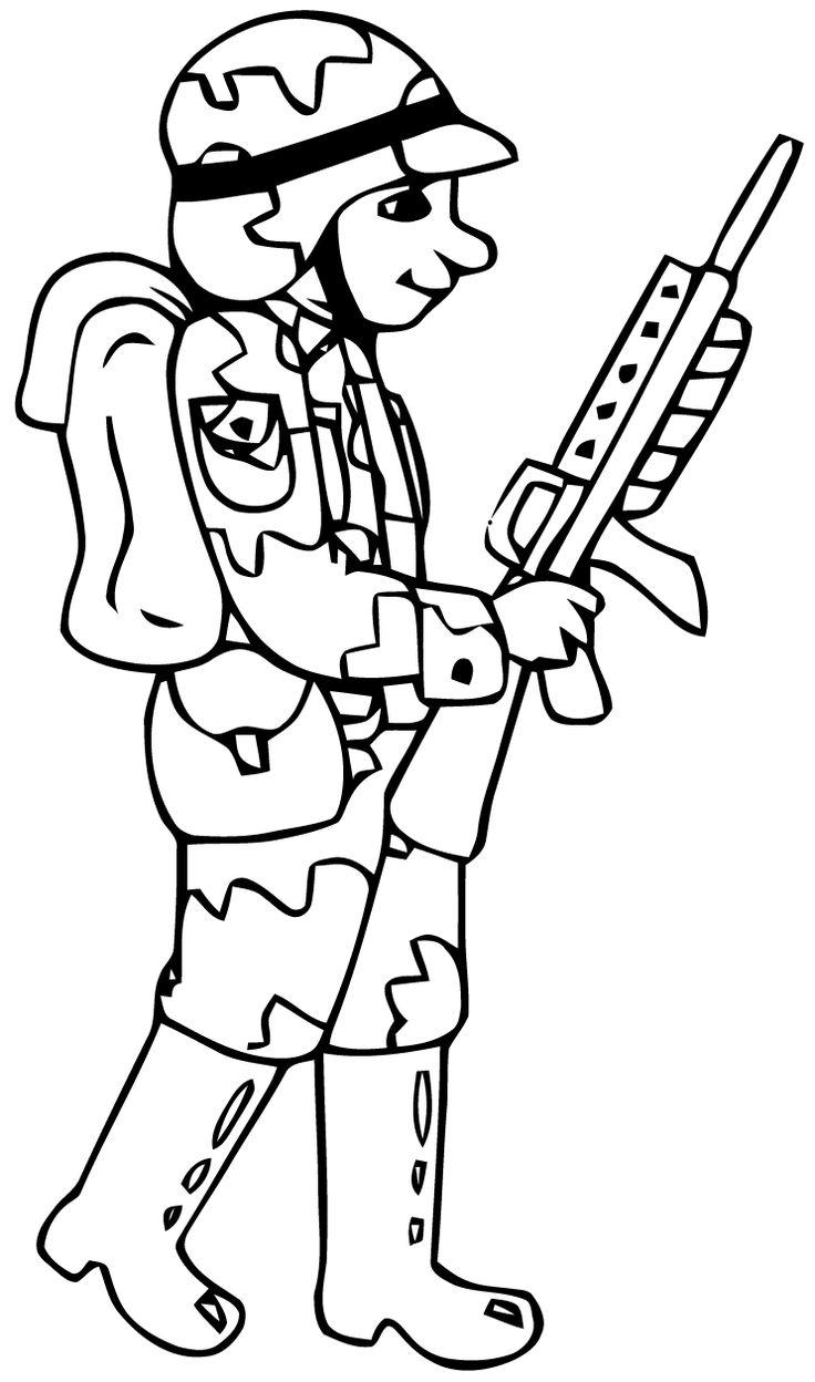 Pour Imprimer Le Coloriage Soldats Internet Explorer Clique Avec Le soldat Pinterest
