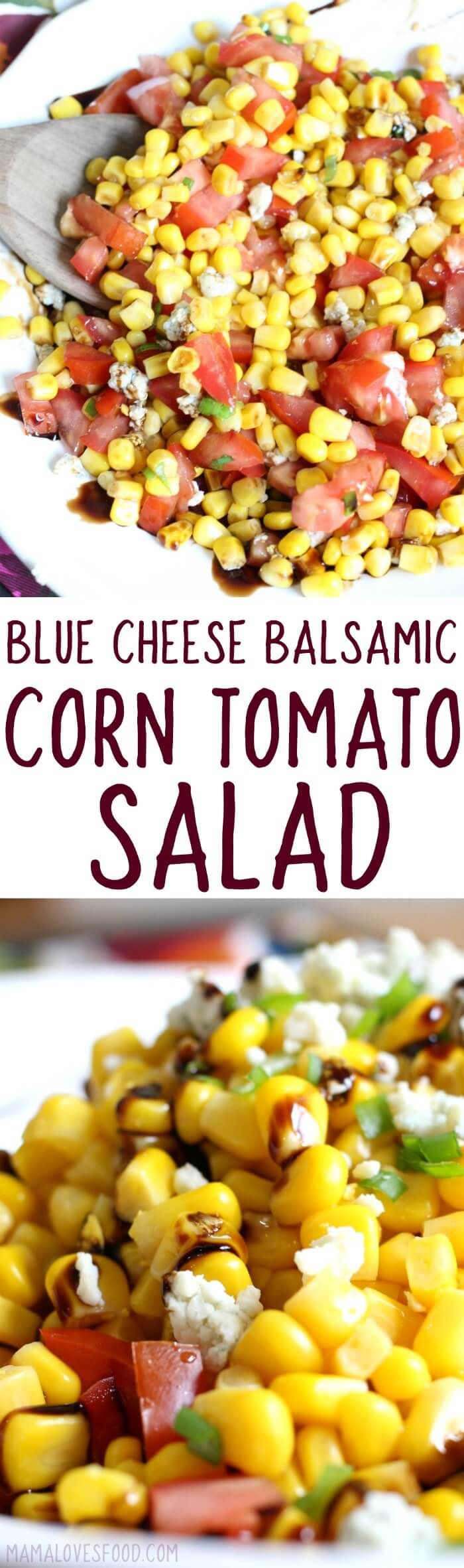 made this for a BBQ and everyone wanted the recipe! Corn & Tomato Salad with Blue Cheese