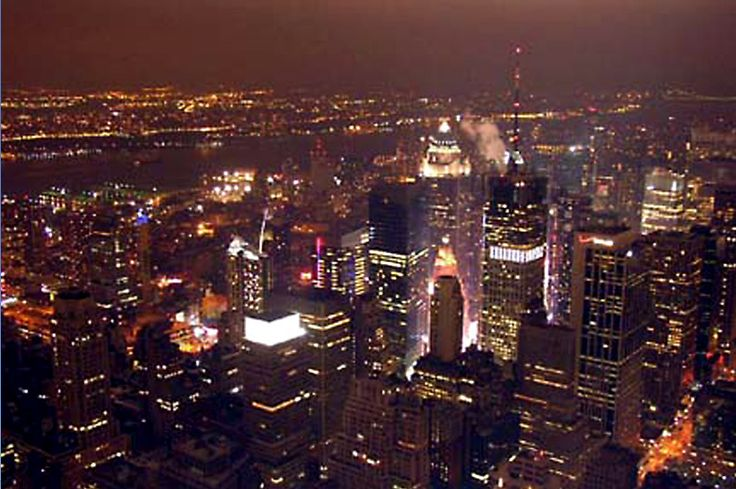 The view from the Empire State Building in New York City. A #throwbackthursday post for my 'A view from the top' series