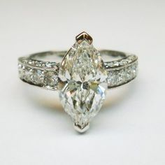 1000+ ideas about Marquis Diamond Ring on Pinterest ...