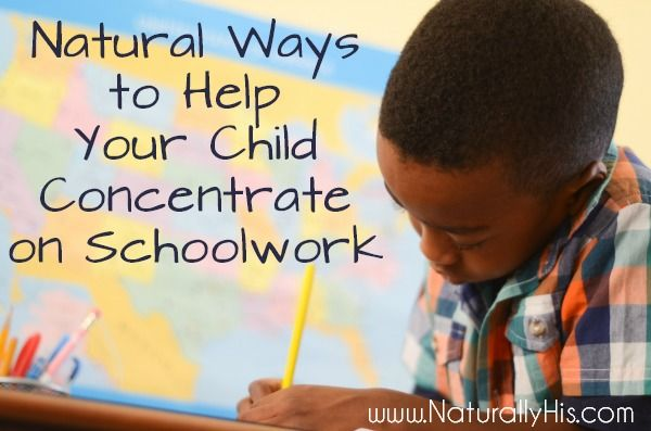how to help a child with add focus in school