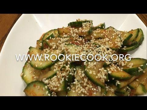 Instant Cucumber Kimchi - Rookie Cook