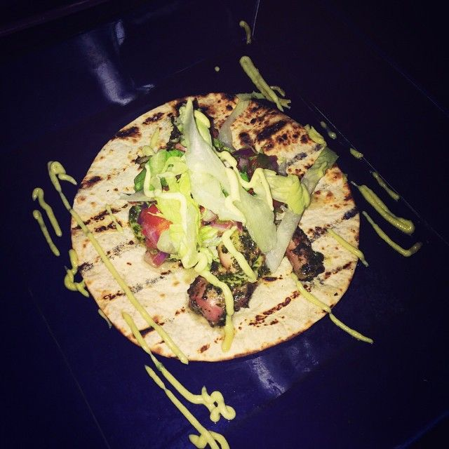 Dada - delray beach - american -Coming for @offorbit_music tonight? Come a little earlier and grab this delicious special: Sous vide cilantro charred octopus tostada. Yum!