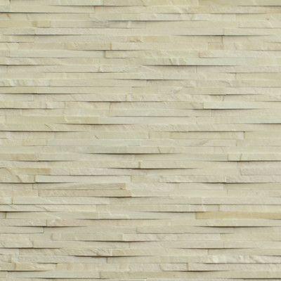 Kellani Cladding Stone Splitface Tile in Sandstone