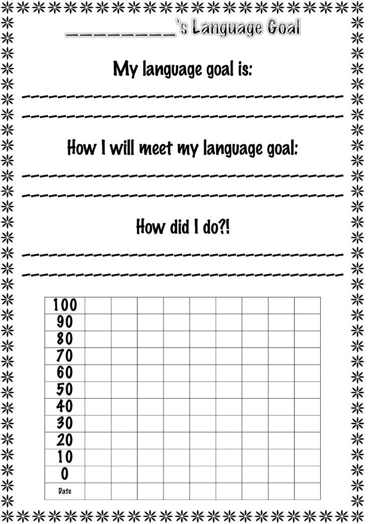 Back to School Goodies!-documents for contact info, speech/language goals, etc. From Little Speech Corner. Pinned by SOS Inc. Resources @sostherapy.