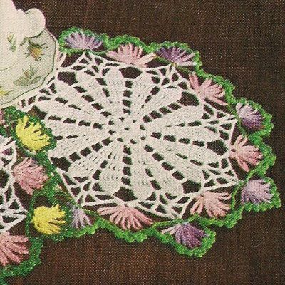 Free Crochet Doily Patterns With Flowers Traitoro For