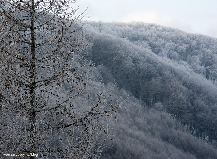 Mátra at winter