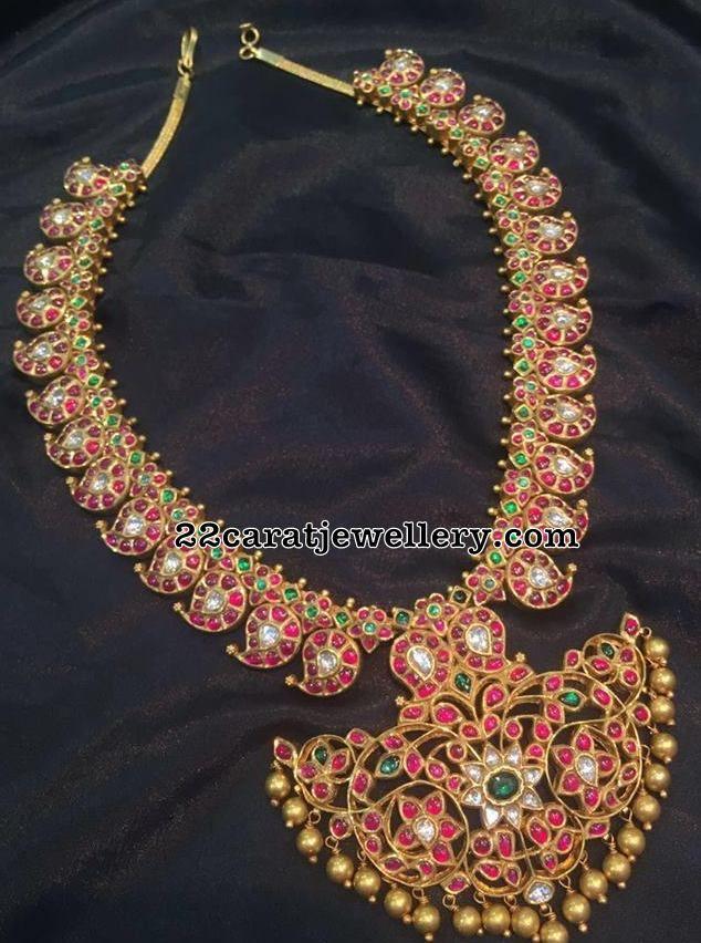 Opulent Mango Mala by Mor Jewellers