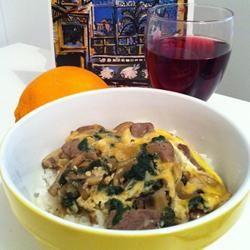 Oyakodon (Japanese Chicken and Egg Rice Bowl) Allrecipes.com