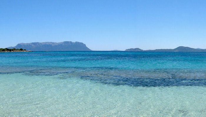 Bianca Beach, Golfo Aranci, Olbia, Sardinia.