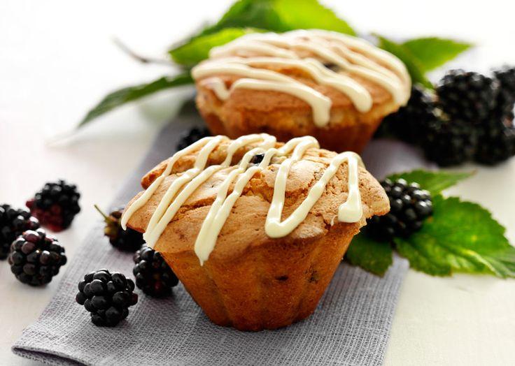 brombærmuffins med hvid chokolade1