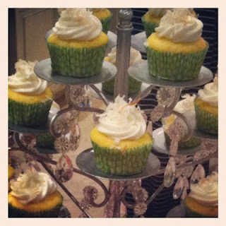 TO DIE FOR key-lime cupcakes!
