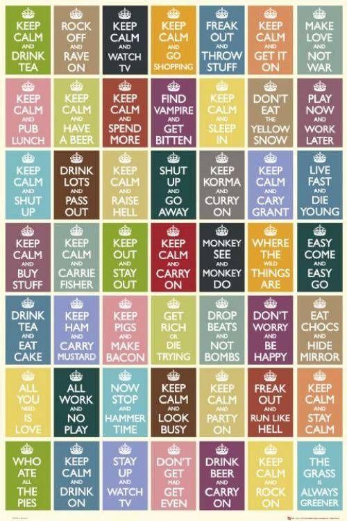 keep calm...  http://ladieswall.tumblr.com