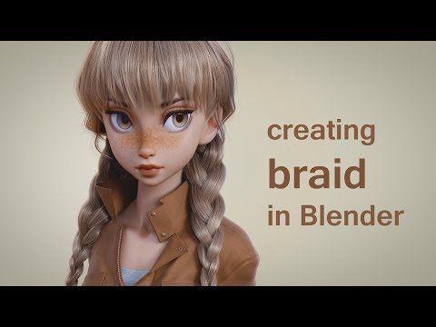 Creating Braid in Blender - YouTube
