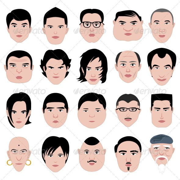 Best 25+ Male face shapes ideas on Pinterest Drawing - Anime Boy Hairstyles