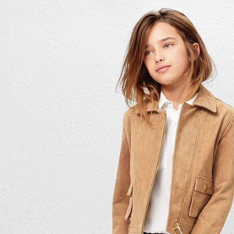 Suede commands attention this season and gives a super cool edge ✔️ #MANGOKids #New #SS16