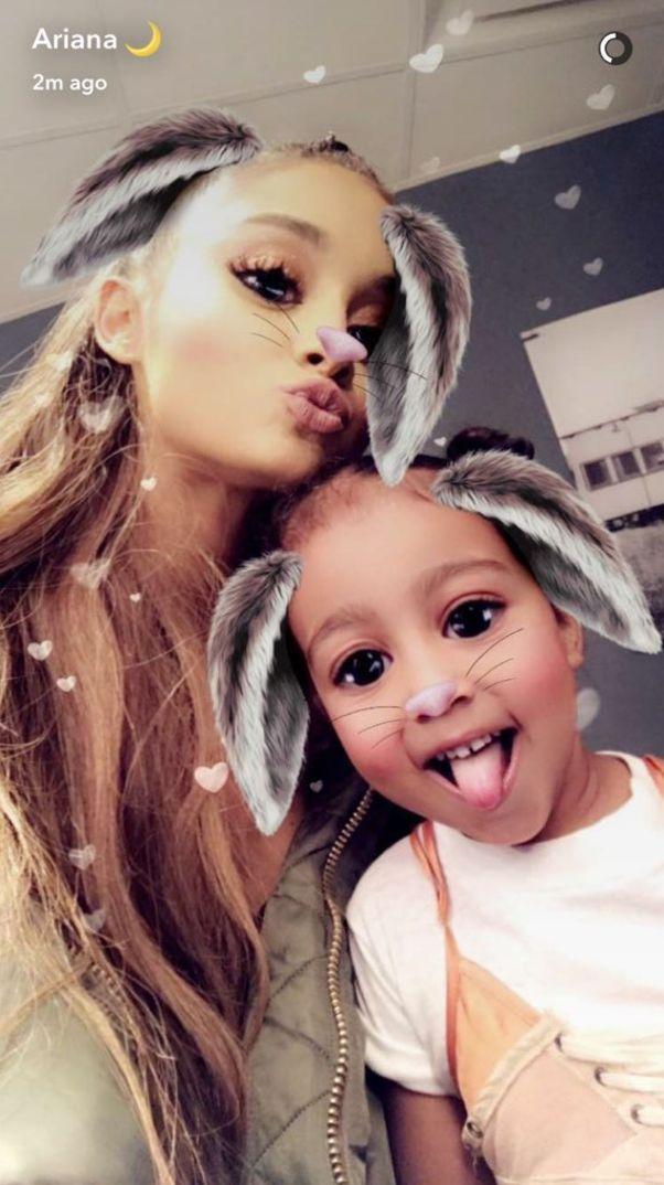 Ariana Grande/Snapchat