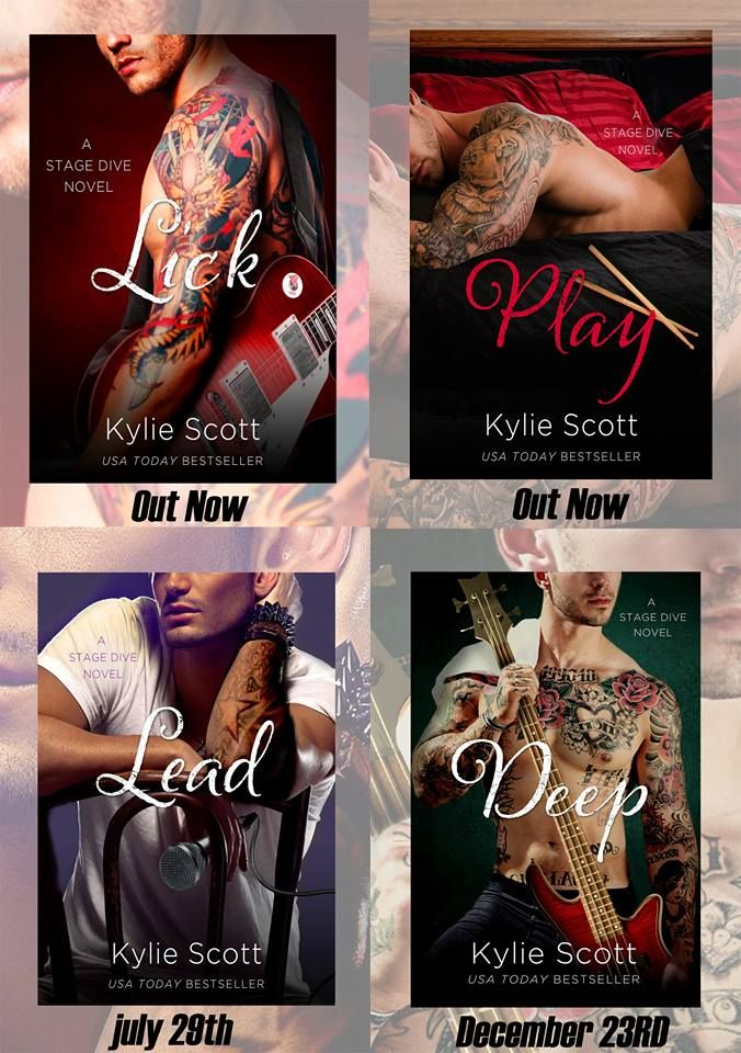 Pinner says: The Stage Dive Series by Kylie Scott is a MUST read ♡. Ok, I'll give the first book a try and let you know! Update: great series! Recommend highly.