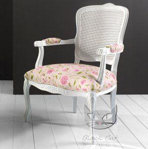 Luisa niesamowicie lekki biały fotel