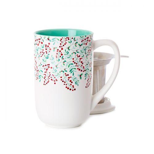 Holly Branches Nordic Mug