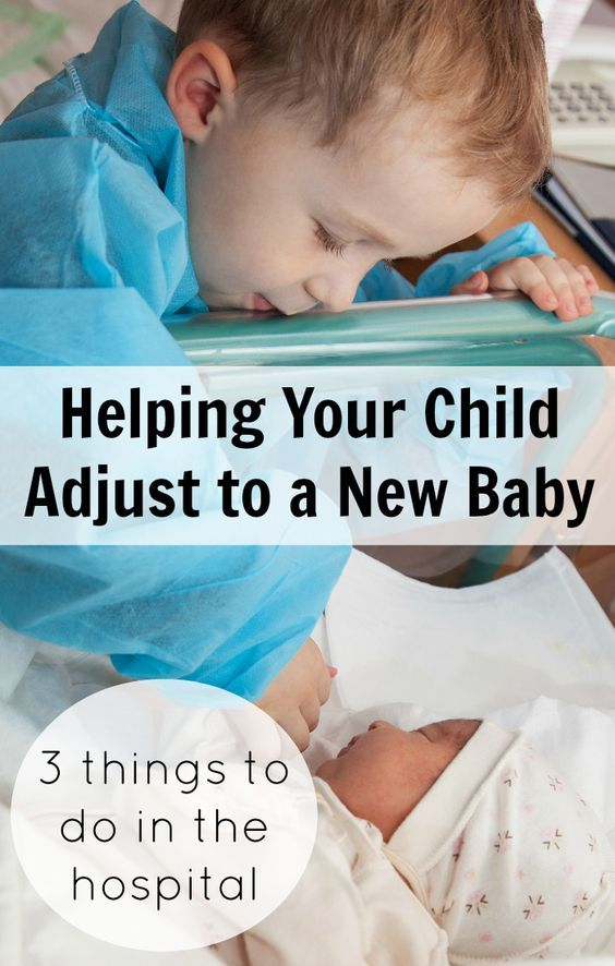 New baby on the way? Here are 3 specific things you can do while you're still in the hospital after delivery to help your older child adjust to their new sibling. Great advice for anyone expecting baby number 2!