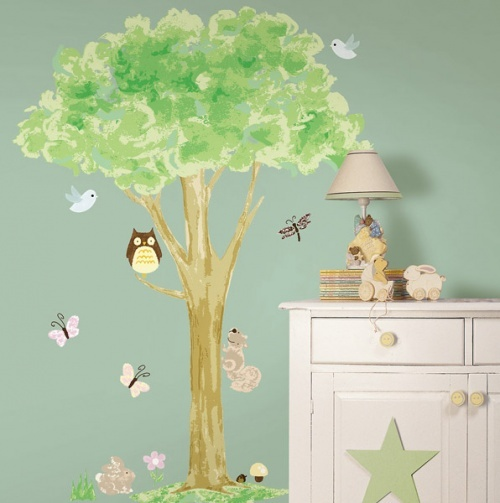 Tree Wall Art Kit - Wallpops Baby