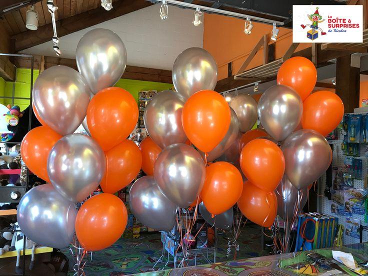 Livraison de Bouquets de Ballons à l'hélium pour radio Cime FM à l'événement Leucan des Laurentides