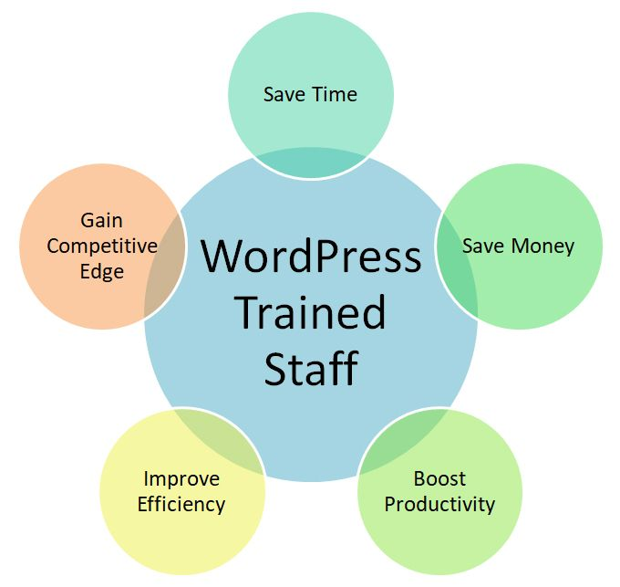 The benefits of training your staff to use WordPress effectively