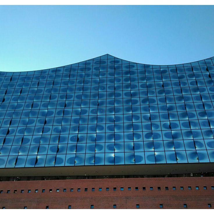 View from above #elbphilharmonie #hamburg #germany