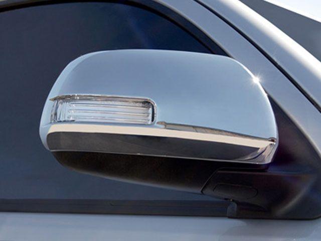QAA PART MC28111 Fits HIGHLANDER 2008-2013 & TACOMA 2012-2015 TOYOTA (2 Pc: ABS Plastic Mirror Cover Set (w/ cutout for turn signal), 4-door, SUV) MC28111