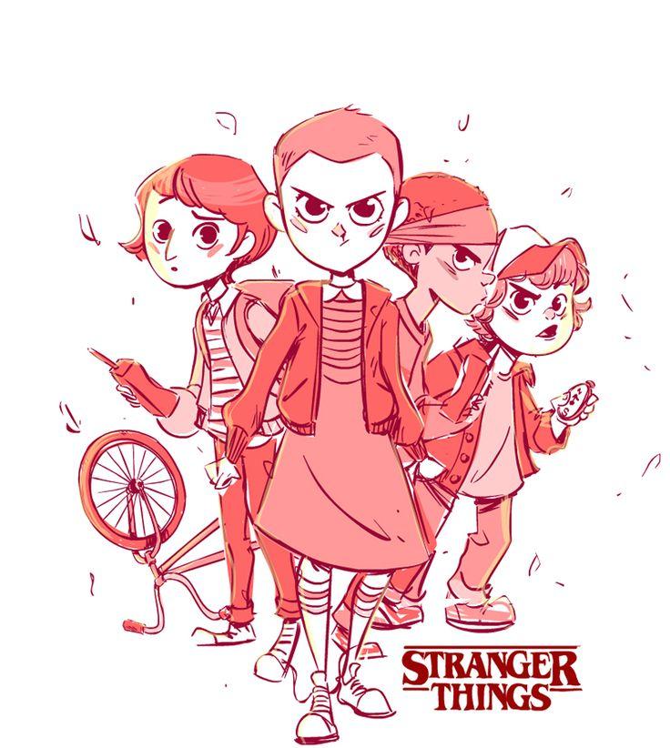 Stranger Things Fan Art on Behance
