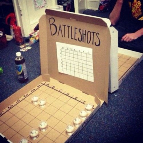 Battleshots.. A Battleship drinking game for adults!!  OMG--this looks awesome for the people I tend to hang out with.