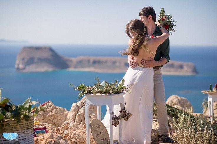 Balos Lagoon wedding in Crete. www.creteforlove.com