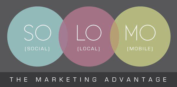 SoLoMo - The Marketing Advantage - Social, Local & Mobile | Boutique By Design #BoutiqueByDesign