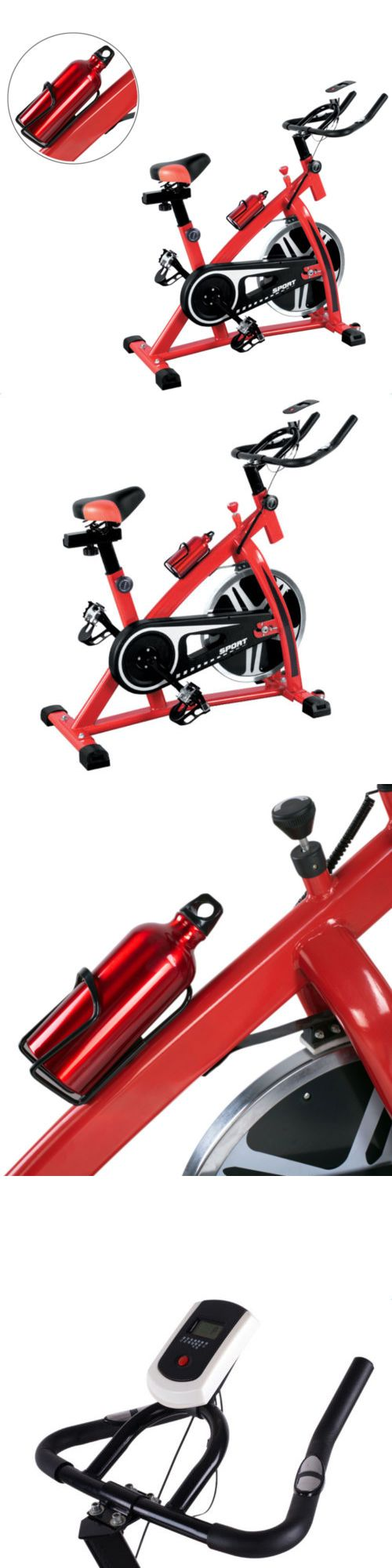 Resistance Trainers 79759: New Exercise Bike Stationary Bicycle Cycling Fitness Health Adjustable Home Gym -> BUY IT NOW ONLY: $153.49 on eBay!