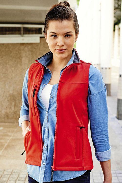 Vestă softshell damă Flux Regatta Great Outdoors #veste #softshell #personalizate #femei #textile #promotionale
