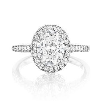 Brides: Oval-Cut Engagement Rings | Engagement Rings | Brides.com