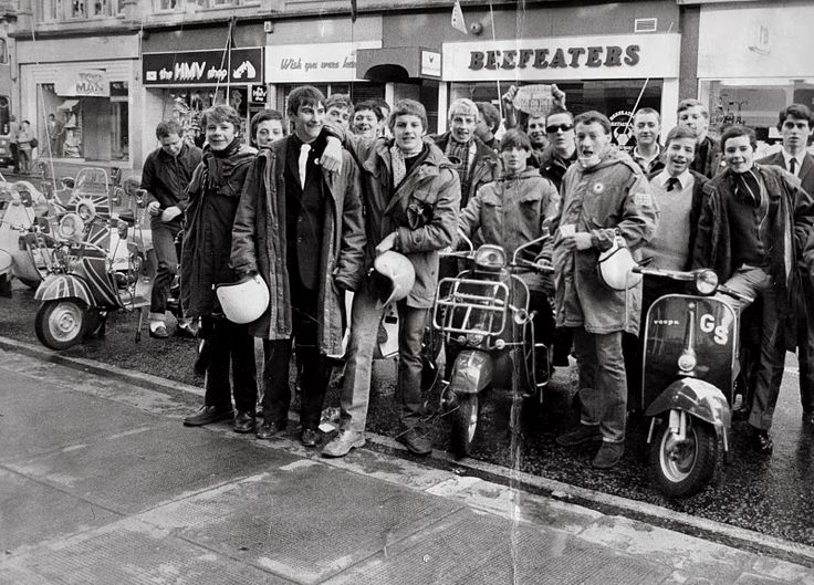 #mods at the seaside