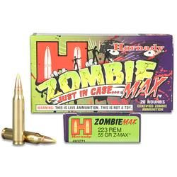CTD Rob admits this is something he didn't even know he needed. The fact that you've never seen a real zombie, is proof that Z-Max ammo works. Z-Max ammunition is a perfect addition to your bug out bag, or survival shelter. Real zombies require real ammo, and Hornady delivers.